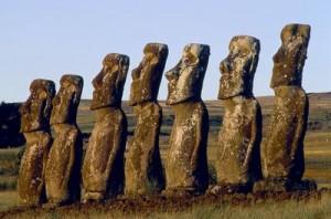 Mistério da ilha da Páscoa - Moais