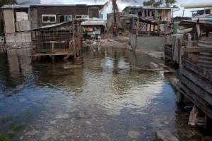 Aquecimento global - Inundações em Tuvalu