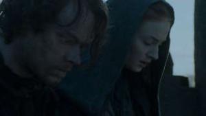 Game of Thrones - Theon Greyjoy e Sansa Stark