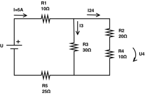 Resistors in series and parallel circuits - Exercise