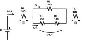 Resistors in series and parallel circuits - Resolution