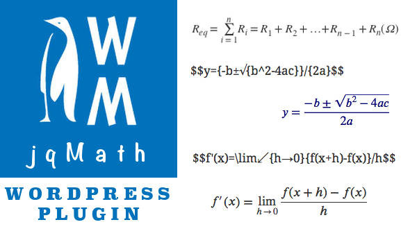 How to use jqMath in Wordpress - Out4Mind