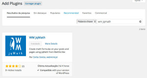 Como usar o jqMath no WordPress