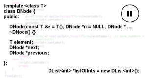 Doubly linked list with class templates (Part I) - Out4Mind