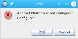 Cordova and Netbeans on Arch Linux: Configure Android Platform