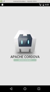 Cordova e Netbeans com Arch Linux: Emulador